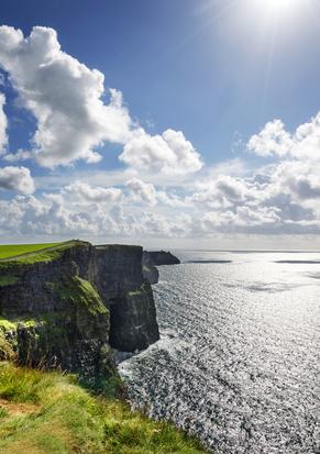 Cliffs of Moher, Irland, Landschaft Attraktion Westkste