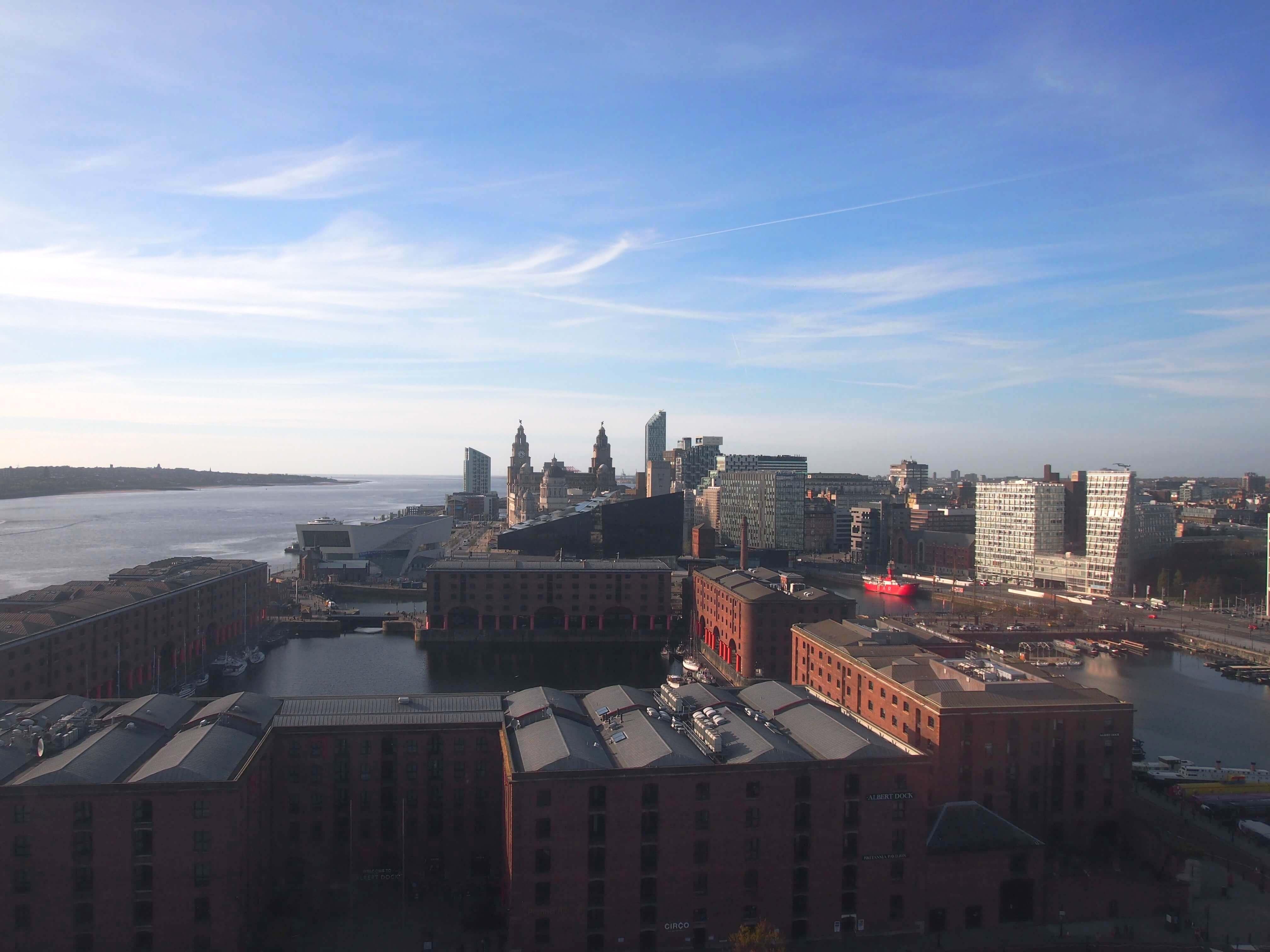 Liverpool von oben